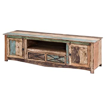 Möbel Ideal Tv Lowboard Largo Tv Board Im Vintage Shabby Chic Stil