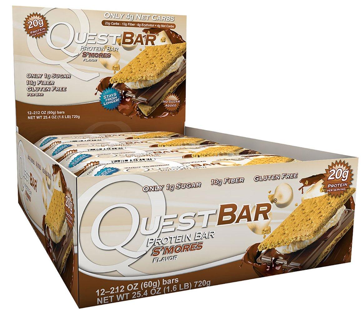 Quest Bars-S'Mores 36 Bars