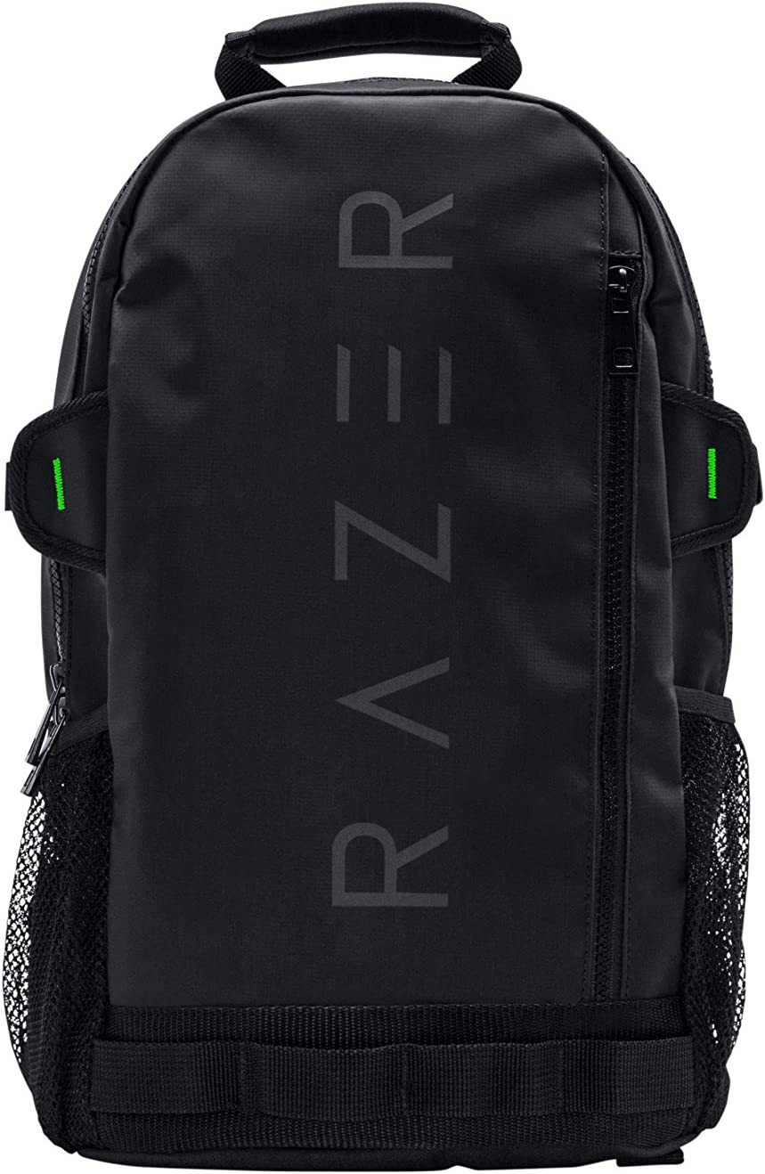 "Razer Rogue v2 13.3"" Gaming Laptop Backpack: Tear and Water Resistant Exterior - Mesh Side Pocket for Water Bottles - Dedicated Laptop Compartment - Made to Fit 13 inch Laptops"