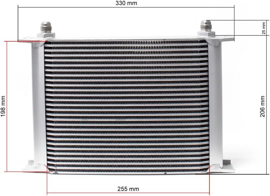Aluminium /Ölk/ühler 28 Reihen /Öl K/ühler Oil Cooler /Ölk/ühlung K/ühlung