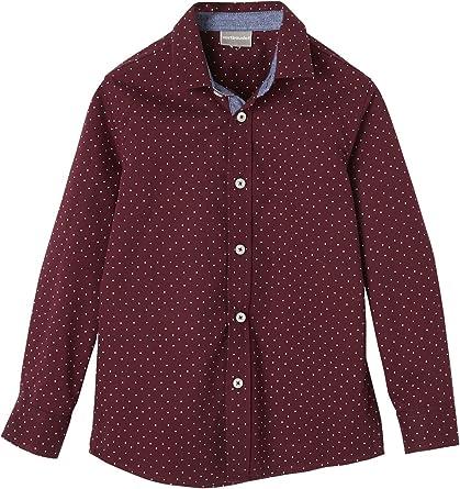 Vertbaudet - Camisa para niño con estampado de lunares ...