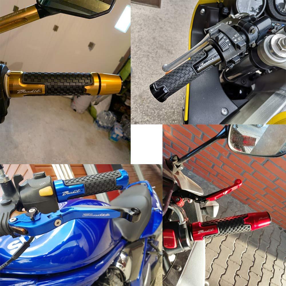 Universale 22mm 7//8Motocicletta Manubrio CNC Alluminio Per SUZUKI Bandit GSXR GSX R 125 150 600 750 1000 SV650 GSF 250 650 V-Strom DL 650 1000-Rosso