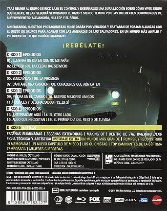 Temporada 7 edición Blu-Ray. 71J657opldL._SX342_