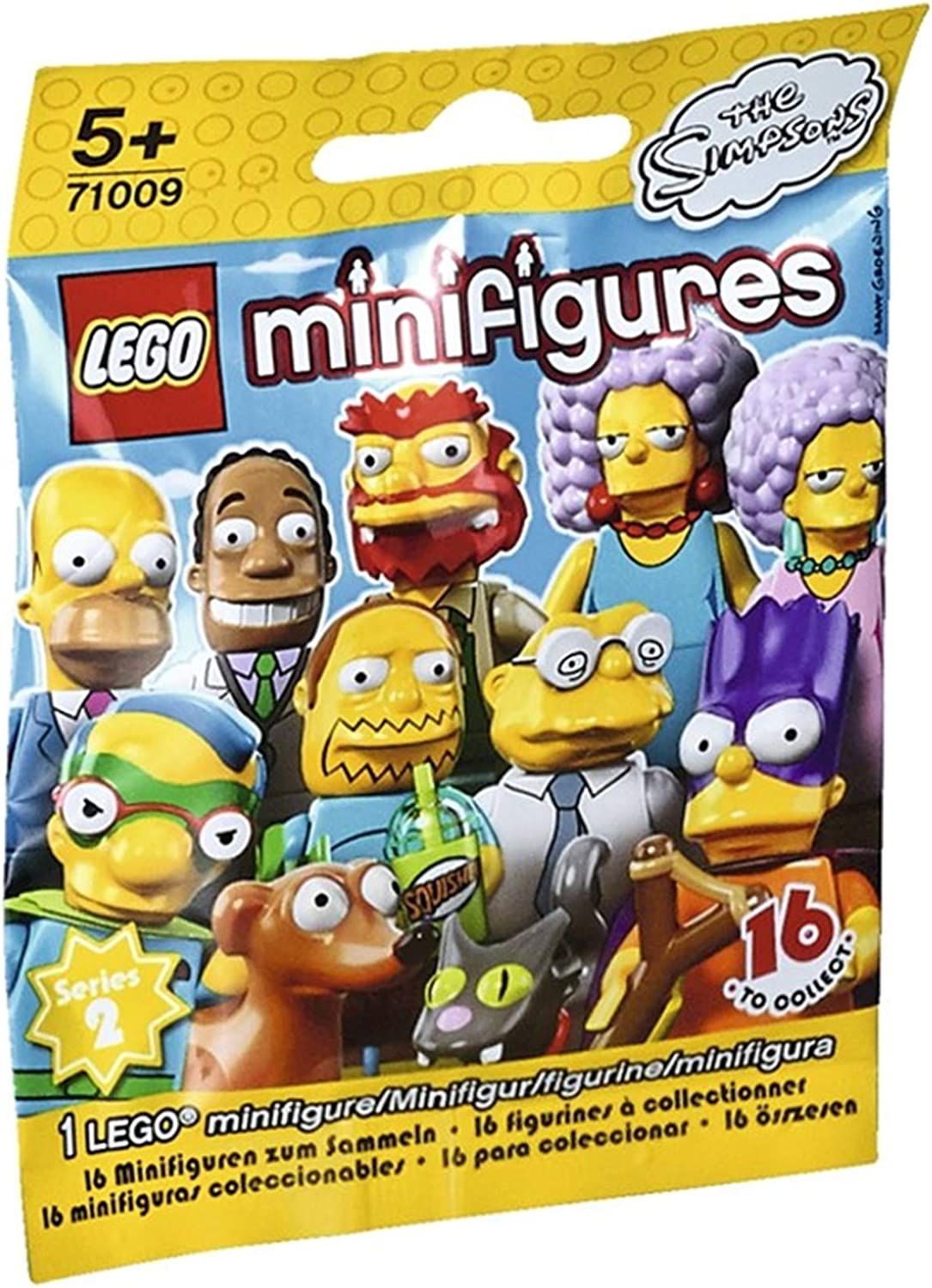 Patty LEGO The Simpsons Series 2 Collectible Minifigure 71009