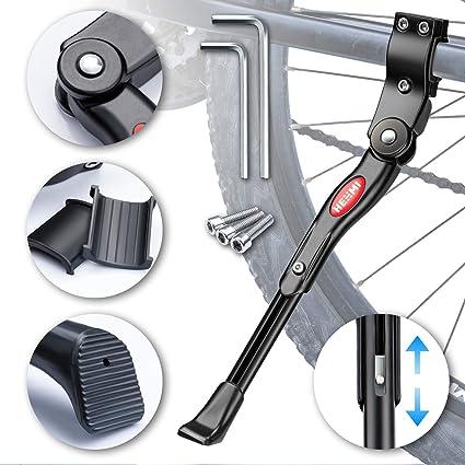 """61 Cavalletto centrale bici regolabile 20/""""-22/""""-24/""""-26/""""-28/"""" in alluminio"""