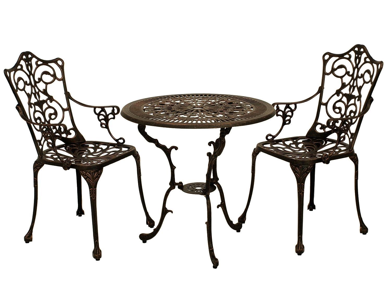 bistroset lugano in jugendstil optik 3 teilig aluguss bronze antik wetterfest g nstig kaufen. Black Bedroom Furniture Sets. Home Design Ideas