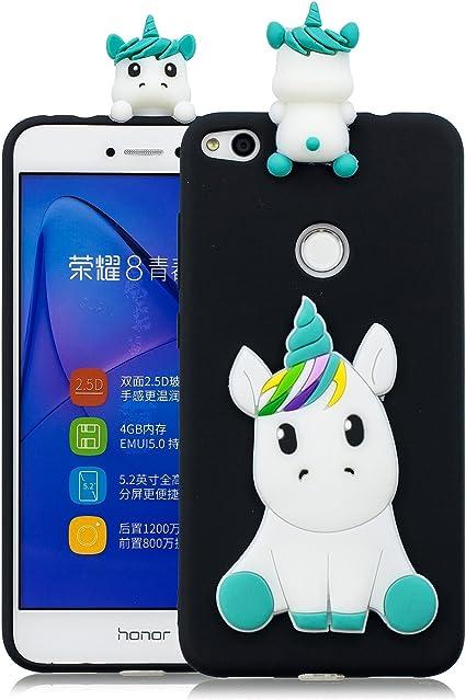 Keteen Coque pour Huawei P8 Lite 2017/Honor 8 Lite, 3D Licorne TPU ...