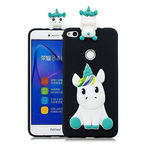 Sunrive Funda para Huawei P8 Lite 2017, Silicona Mate Funda ...