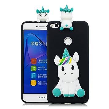 DYSu Funda para Huawei P8 Lite 2017/Honor 8 Lite Unicornio ...