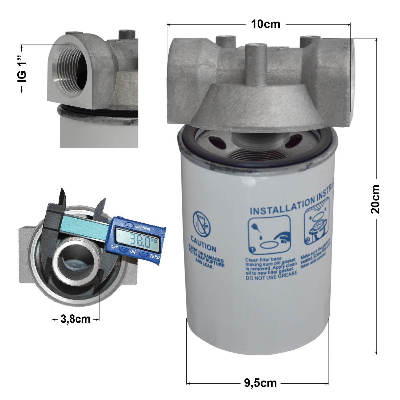 Bomba Combustible Bomba Diesel Bomba de Gasolio Bomba TRASVASE GASOLEO Set Profi 600 Bomba Diesel AUTOCEBANTE 230V