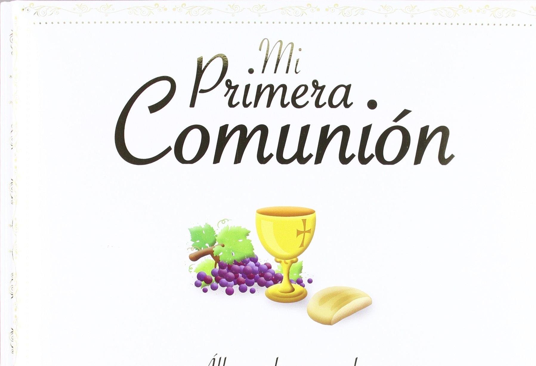 496a42c6b058 Mi primera comunión  álbum de recuerdos Mis primeros libros  Amazon.es   Francesca Galmozzi