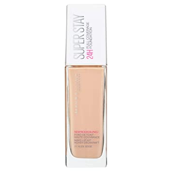 9c2714cae5f Image Unavailable. Image not available for. Colour: Maybelline Superstay 24  Hour Foundation ...
