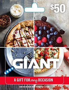 Giant Gift Card