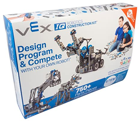 Amazon Com Hexbug Vex Iq Robotics Construction Kit Toys Games