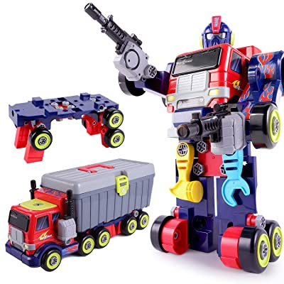 Animals Robot Educational Transforming Toys for Preschool Toddlers Kids Boys