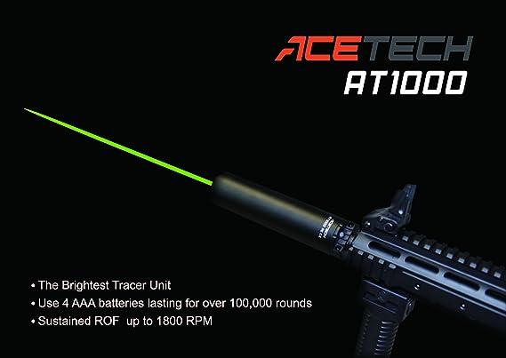 Details about  /ACETECH Lighter BT Tracer Unit//Chronograph For Airsoft M14-//M11 Thread