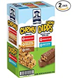 Quaker Chewy Granola Bars and Dipps Variety Pack, 58 Count - Pack of 2