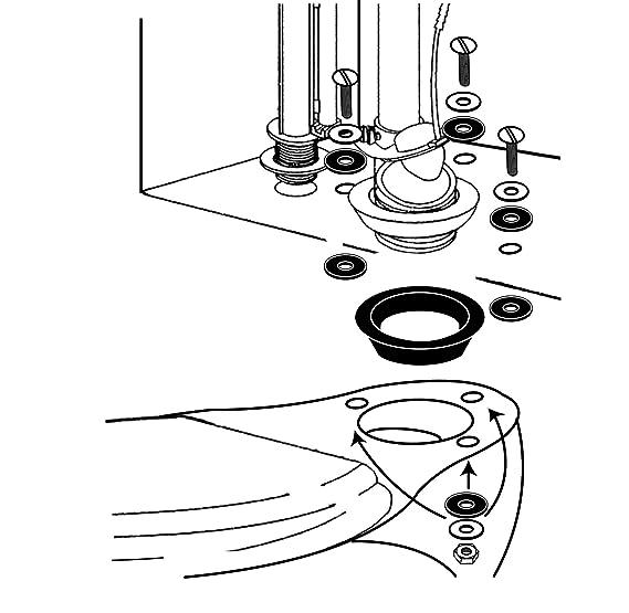Kohler Tank to Bowl Gasket Kit