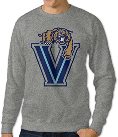 Men Hoodie Villanova University Love Logo Zip Sweatshirt