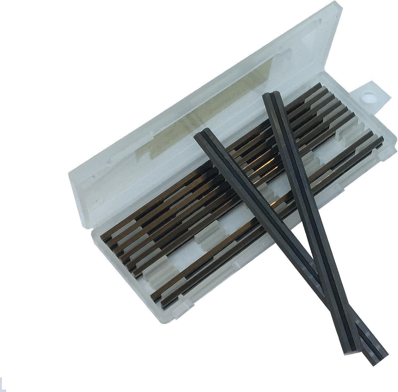 Caja de 10 – 82 mm HSS reversible hojas de cepilladora para Makita ...