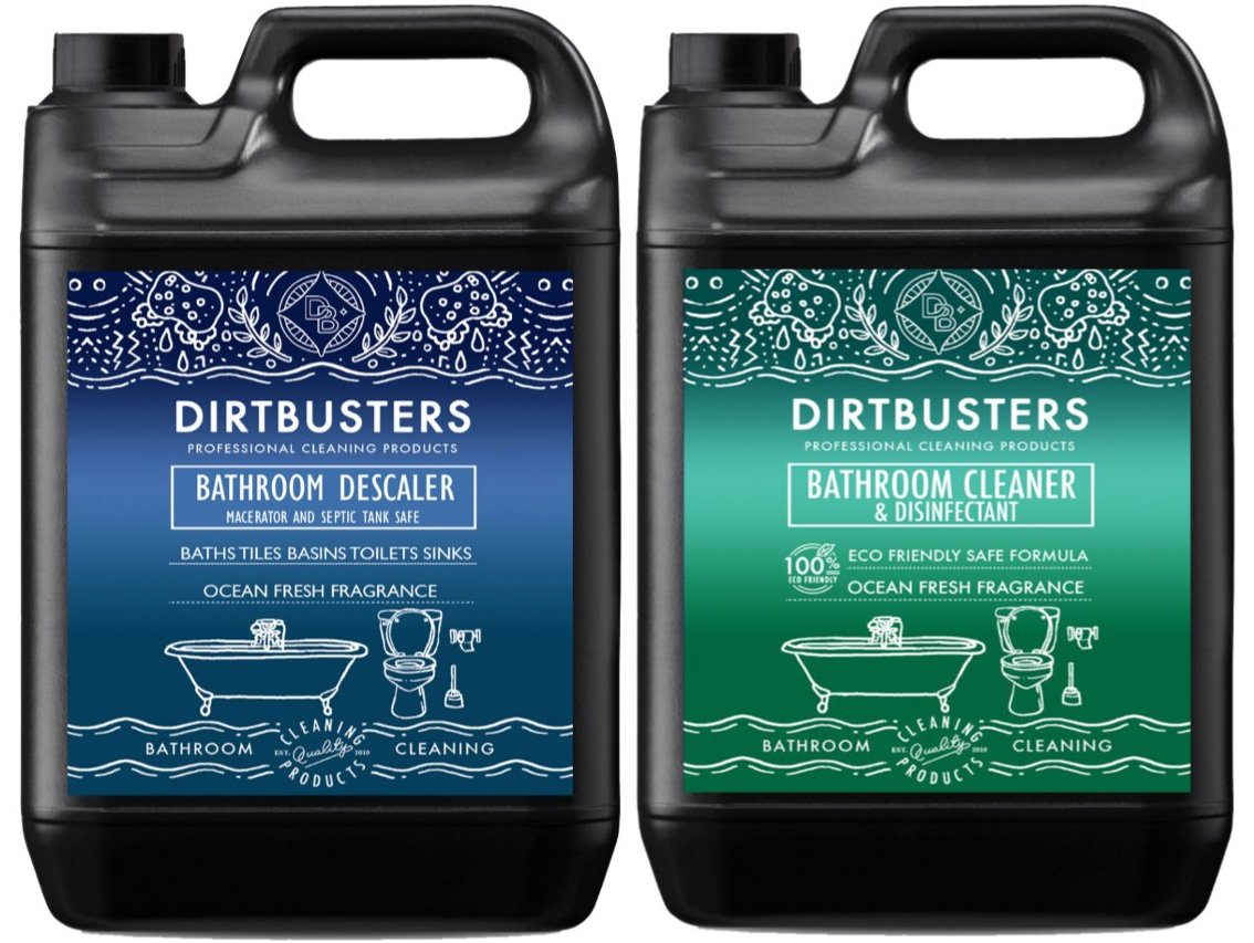 Dirtbusters Bathroom De-scaler and Macerator saniflo Descaler bathroom cleaner with for toilets baths basins showers taps