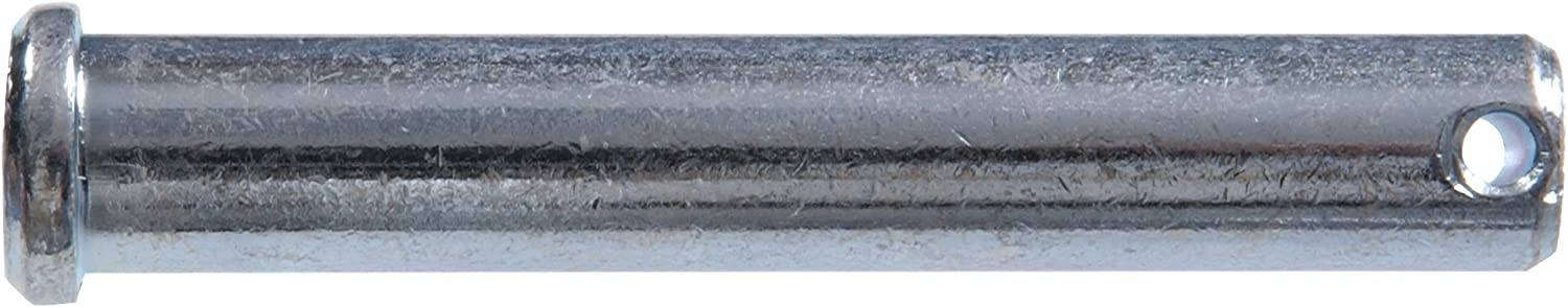 4-Pack The Hillman Group 44353 1//2 x 3-Inch Single Hole Clevis Pin