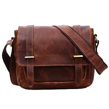 trouver le prix le plus bas Royaume-Uni détaillant Leathario Sac en Cuir, Sac rétro en Cuir, Sac Vintage ...