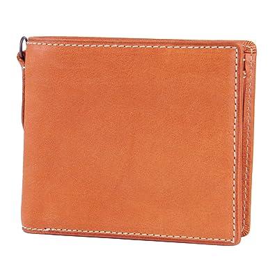 eaba7ffd8ef1 Amazon   [コルボ] CORBO. 小銭入れ付き二つ折り財布 8LO-9931 オレンジ ...