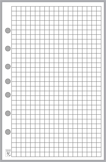 AmazonCom  Classic Size Graph Paper Refill Sized And Punched With