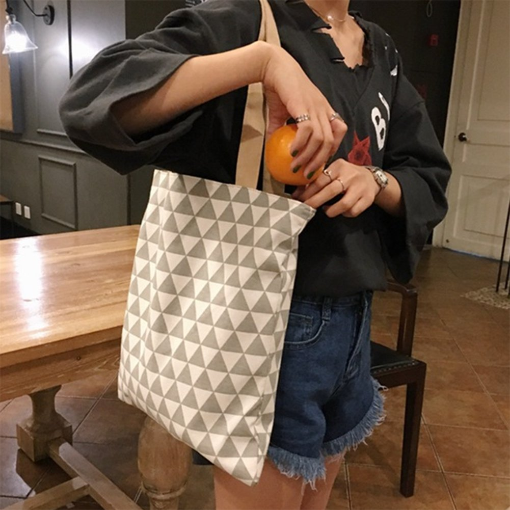 LAAT Double Sided Usable Shopping Bag Tote Sack Messenger Rucksack