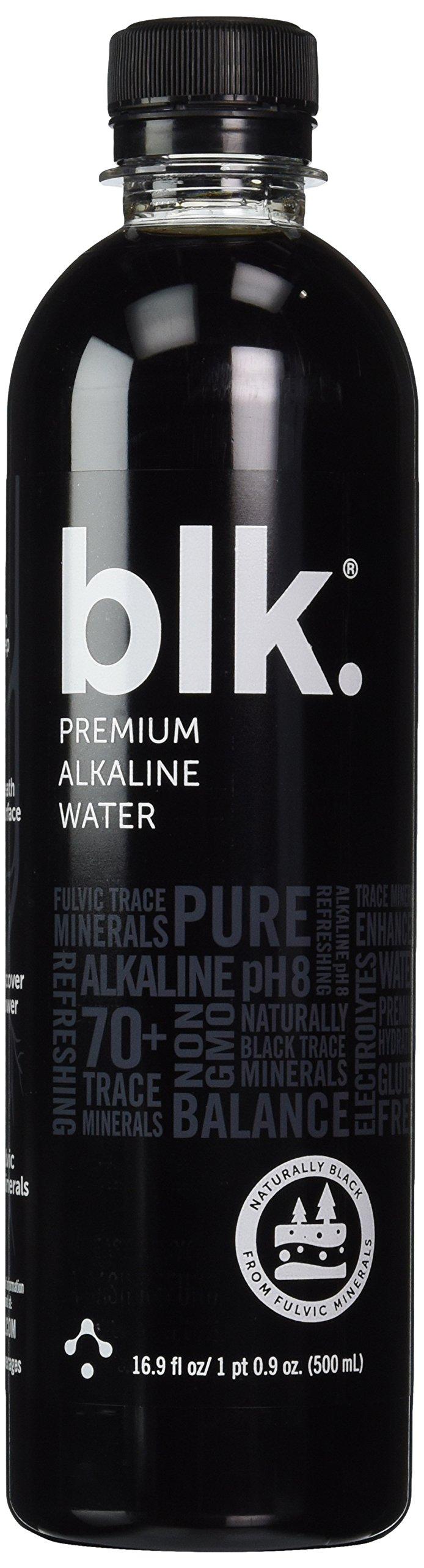 Blk Beverages - Spring Water Enriched with Fulvic Acid (Pack of 2) 16.fl 1pt 0.9oz(500ml)