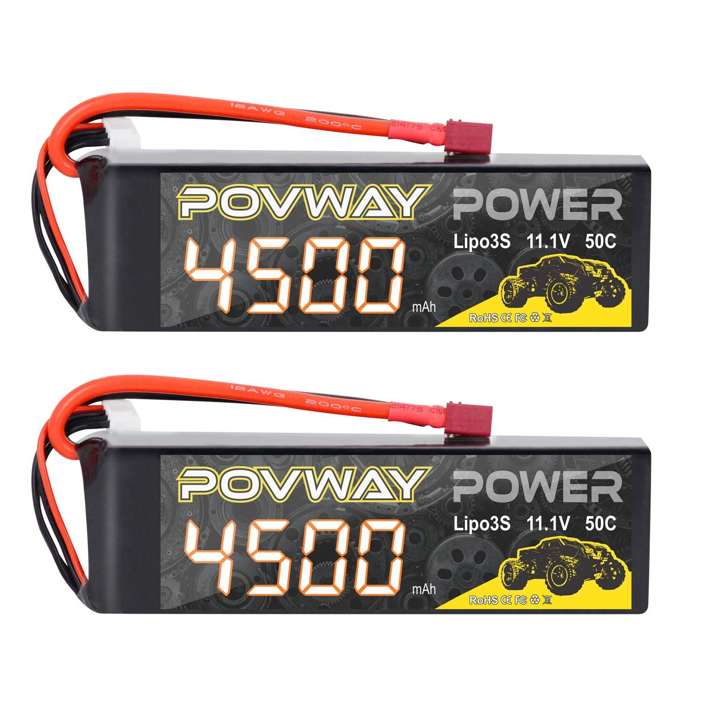 Baterias LIPO (2) 7.4V 500mah RC POVWAY
