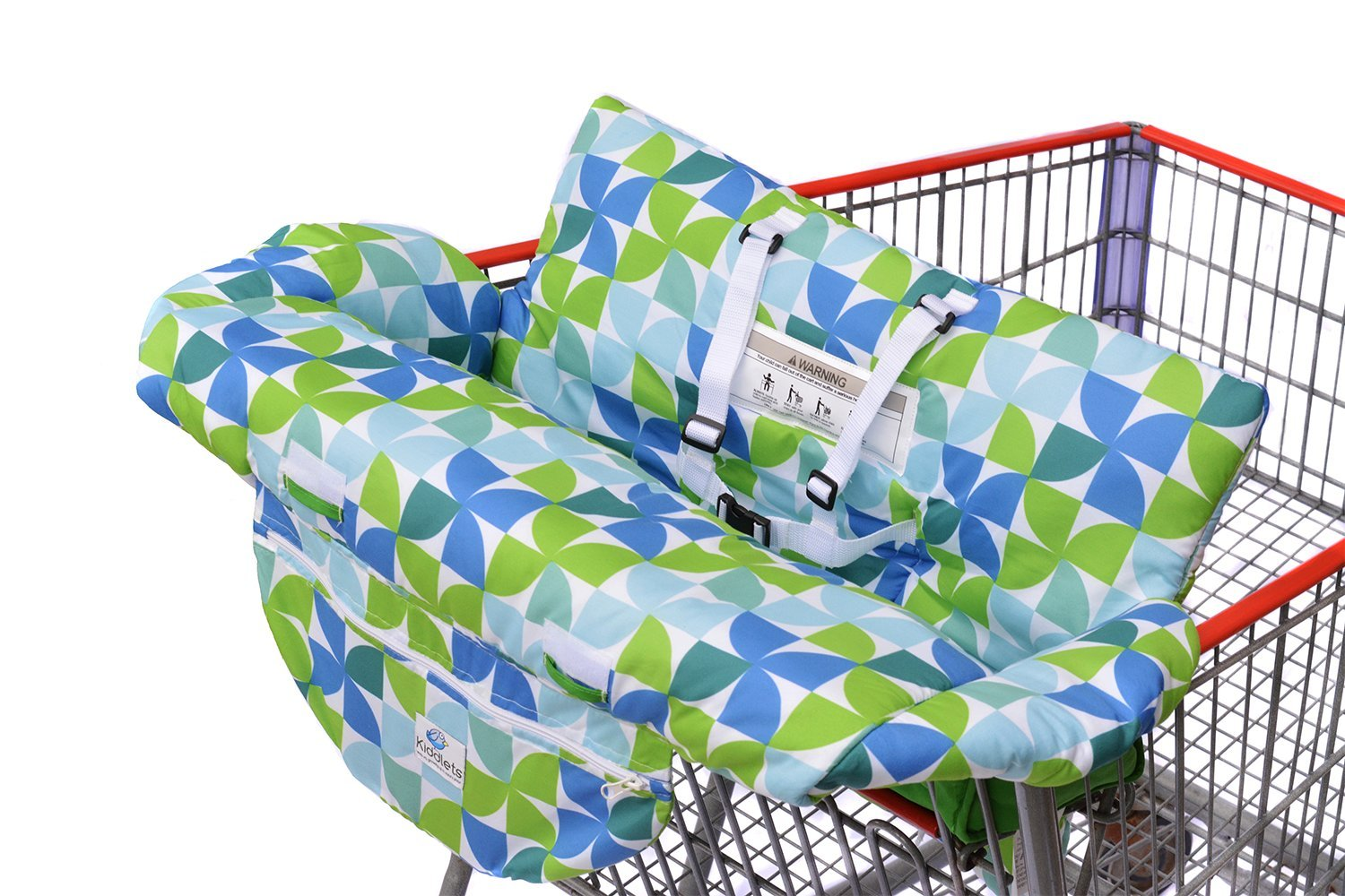 Costco Sized Grocery Shopping Cart Baby Seat Cover Restaurant High Chair Insert Cushion Holder