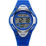 SKMEI Kids Sport Digital Watch Boys Waterproof Wrist Watches with LED Electronic Alarm Stopwatch for Boys Girls