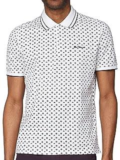 Ben Sherman Mens Ss Scooter Print Shirt