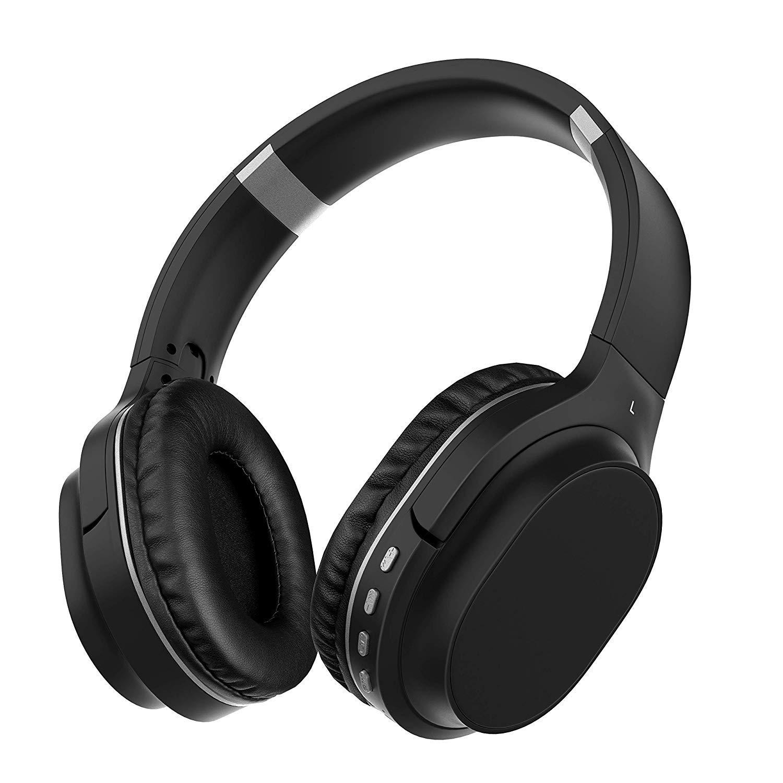 Soporte TF Trabajo y Aire. 30 Horas de Viaje aud/ífonos de prote/ínas c/ómodos Los Auriculares Azules con micr/ófonos de silenciador Tienen aud/ífonos Bajos Profundos