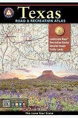 Texas Road & Recreation Atlas (Benchmark Recreation Atlases) Spiral-bound