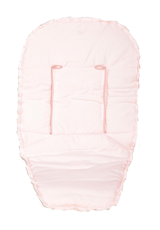 Funda//colchoneta Piqu/é Rosa para Silla de beb/é Universal