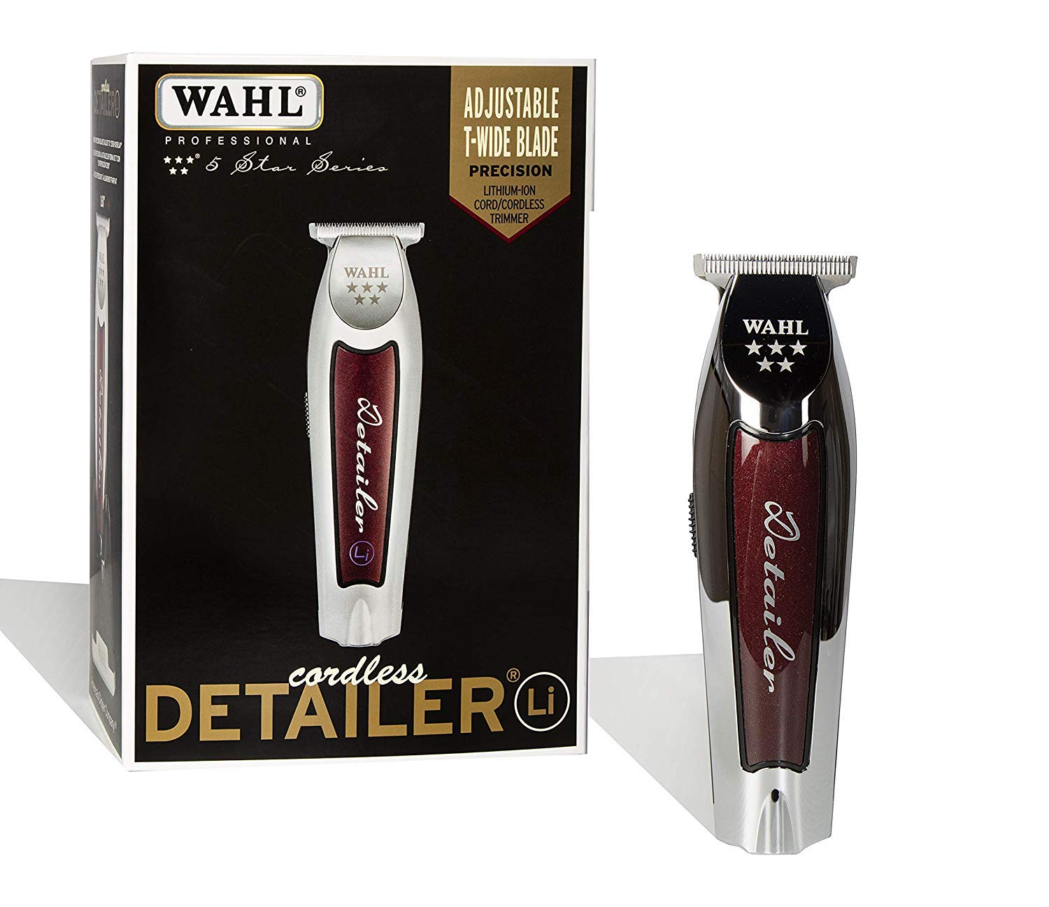 wahl professional - 71J6NUj2PJL - Wahl Professional 5-Star Series Lithium-Ion Cord/Cordless Detailer Li #8171 Ultra Close Trim from the Line Loved by Barbers- 100 Minute Run Time