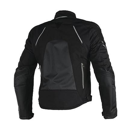 b76d8ecd34c0 Amazon.com: Dainese Hawker D-Dry Mens Textile Motorcycle Jacket Black/Ebony  56 Euro/46 USA: Automotive