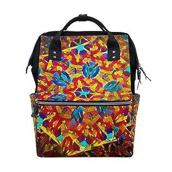 Amazon.com: Bolsas grandes para pañales de viaje, con diseño ...