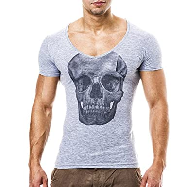 c1d64562ee668 Herren T-Shirt Sannysis Männer T-Shirts Pocket Kurzarm Mode Muscle Hoodies  Tops Bluse