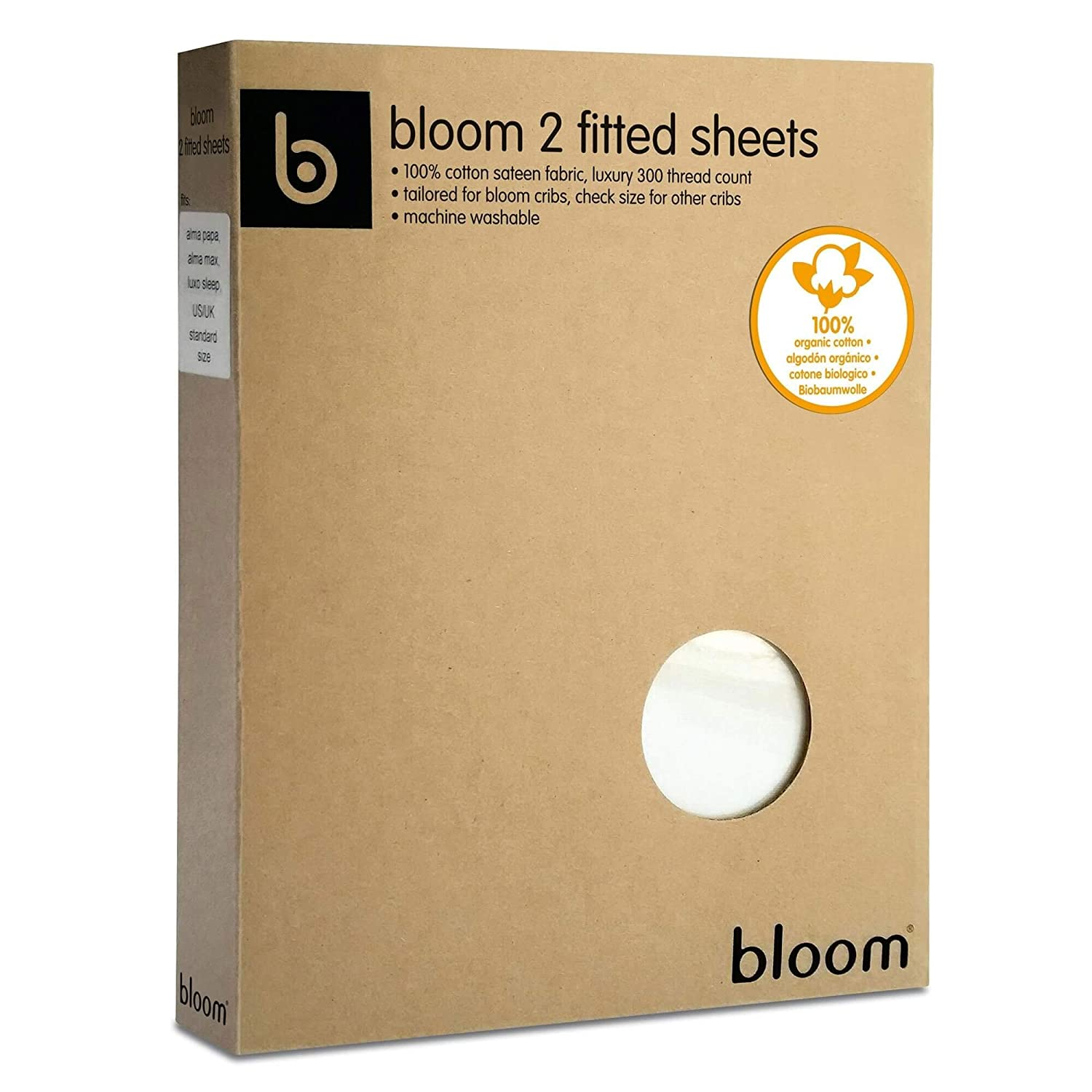 Bloom (Ilinko Ltd) BLOQ 6, Colchón para cuna, 140 x 70 cm, 2 pcs, White (Blanco coco): Amazon.es: Bebé