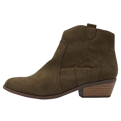 Dorothy Perkins MADDS Para Mujer Botines Botas Marrón, Tamaño:42: Amazon.es: Zapatos y complementos