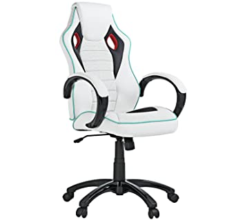 Strange X Rocker Height Adjustable Office Gaming Chair White Uwap Interior Chair Design Uwaporg