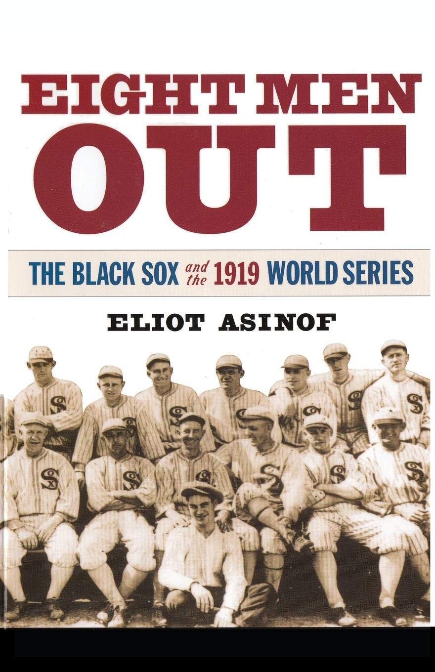 Image result for eight men out book cover
