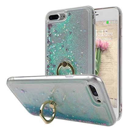 coque iphone 8 plus silicone avec anneau