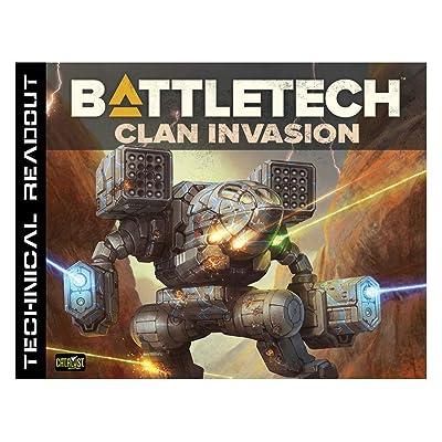 Catalyst Game Labs Battletech Technical Readout Clan Invasion: Catalyst Game Labs: Toys & Games