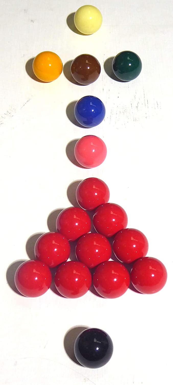 ARAMITH 2,54 cm 1 17/juego de bolas de billar Inglés 2**: Amazon ...