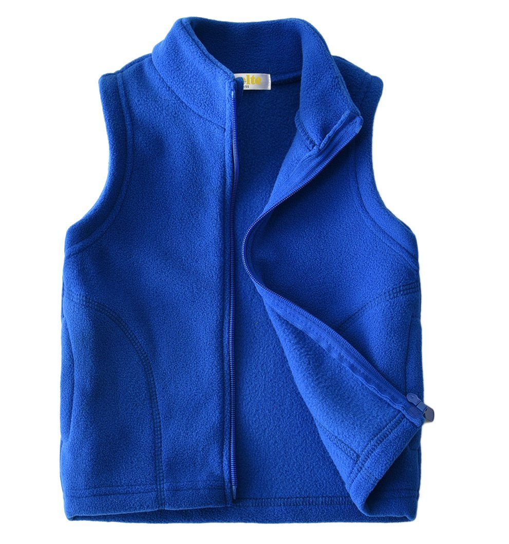 Dalary Baby Boys&Girls Polar Fleece Sleeveless